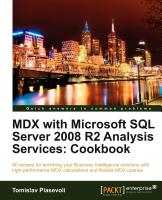 MDX Cookbook